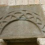 Almenno San Bartolomeo 横扉口彫刻