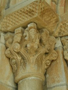 Artaiz 柱頭彫刻