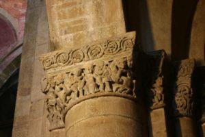 Pavia 柱頭彫刻
