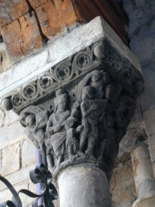 Jaca 柱頭彫刻