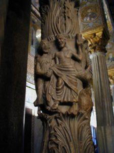 Palermo / Cappella Palatina  彫刻