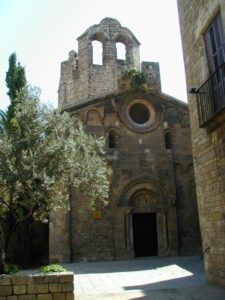 Barcelona 教会堂正面