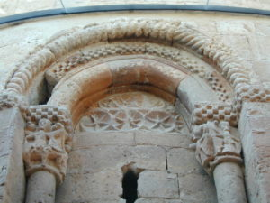 San Esteban de Gormaz / Santa Maria del Rivero 窓