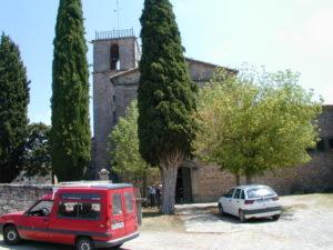 Lluca 教会堂正面