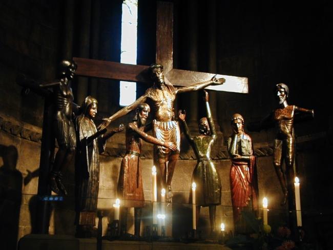 Sant Joan de les Abadesses 彫像