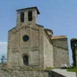 Frontanya 教会堂正面