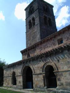 Vizcainos 教会堂側面