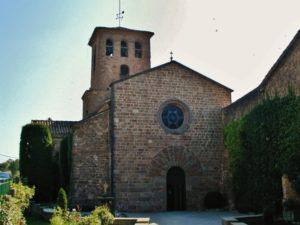 L'Estany 教会堂正面