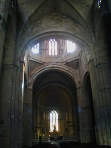 Sant Cugat del Valles 身廊