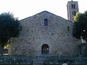 Taull / Sant Climent 教会堂正面