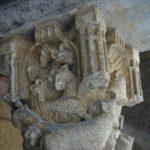 Sant Cugat del Valles 柱頭彫刻