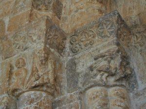 San Esteban de Gormaz / Santa Maria del Rivero 扉口彫刻