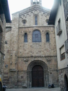 La Seu d'Urgell 教会堂正面