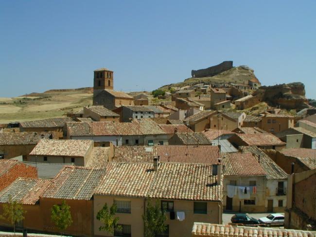 San Esteban de Gormaz / San Miguel 全景