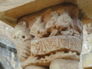 Soria / San Juan de Duero 柱頭彫刻