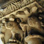 Barcelona 柱頭彫刻