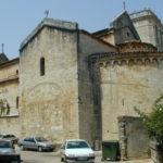 Besalu 教会堂側面