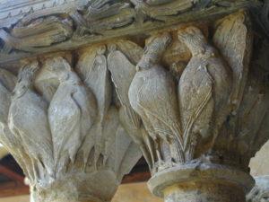 Santo Domingo de Silos 柱頭彫刻