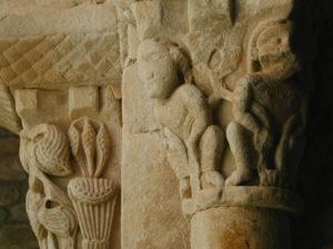 Lluca 柱頭彫刻