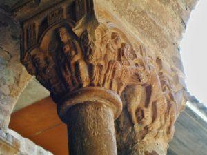 L'Estany 柱頭彫刻