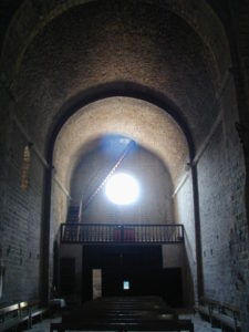 Frontanya 身廊