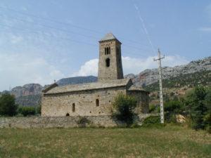 Coll de Nargo 教会堂側面