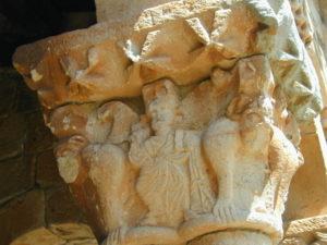 Canales de la Sierra 柱頭彫刻