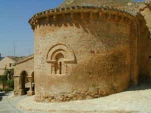 San Esteban de Gormaz / San Miguel 後背部