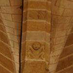 Agonges 壁面彫刻