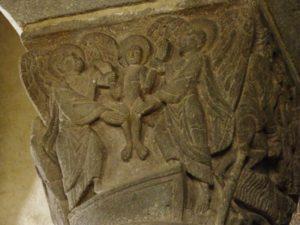Besse en Chandesse 柱頭彫刻