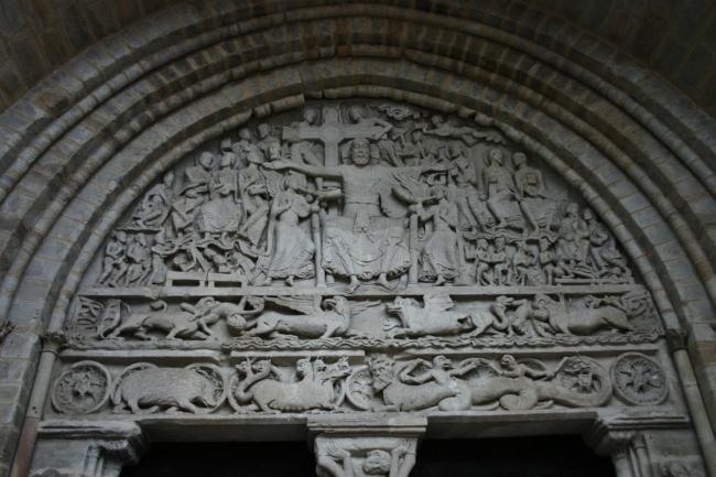 Beaulieu sur Dordogne「最後の審判」