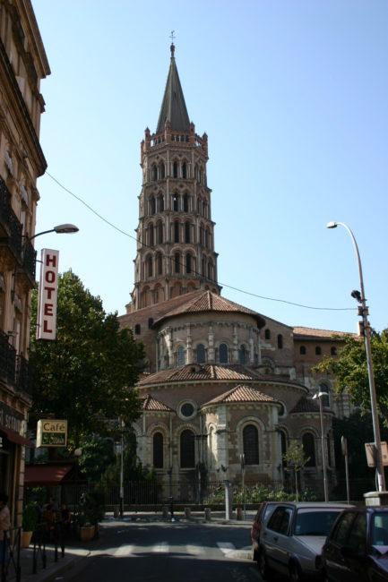 Toulouse / St.Sernin 全景