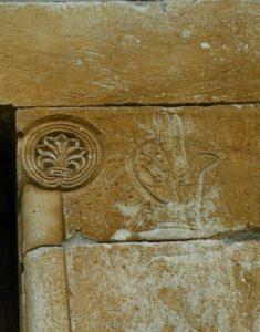 St.Genis des Fontaines 扉口彫刻