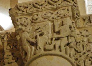 Saintes/St.Eutrope 柱頭彫刻