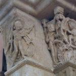 Vezelay 左扉口彫刻