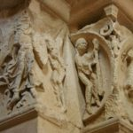 Vezelay 右扉口彫刻
