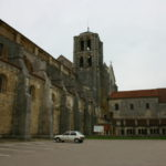 Vezelay 教会堂側面