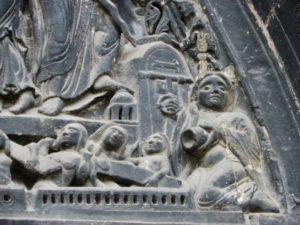 St.Denis 中央扉口タンパン