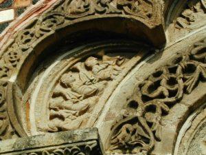 Le Puy / St.Michel d`Aiguilhe 扉口彫刻