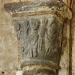 Chambon sur Lac 柱頭彫刻