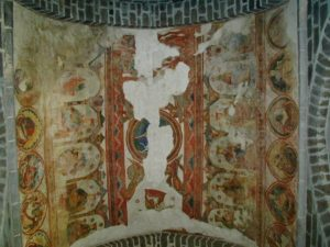 St.Junien 天上壁画