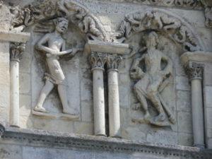 Angouleme ファサード彫刻