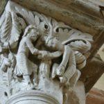 Vezelay 柱頭彫刻