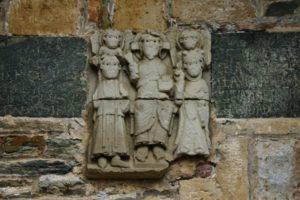 Conques 彫刻