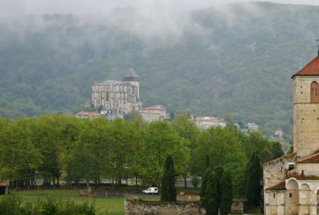 St.Bertrand de Comminges 全景