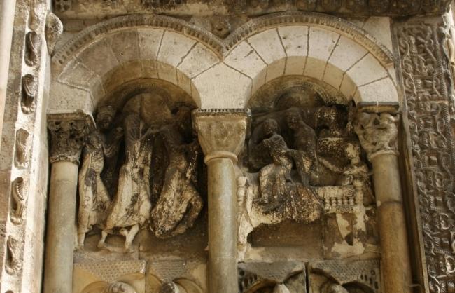 Moissac 「マギの礼拝」