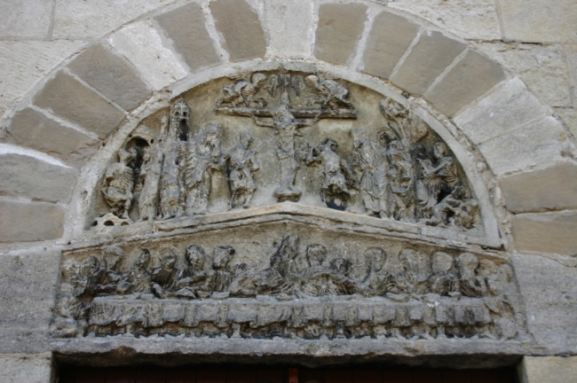 Champagne sur Rhone 「最後の晩餐」と「十字架上のキリスト」