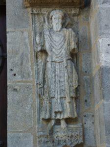 Clermont Ferrand 扉口彫刻