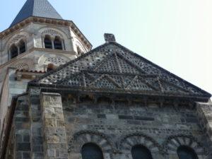 Clermont Ferrand 教会堂側面