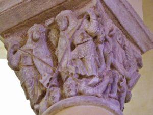 Clermont Ferrand 柱頭彫刻